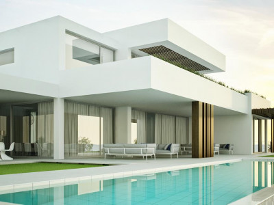 Sotogrande, Plot for sale in Sotogrande with a project for a 6 bedroom villa in place