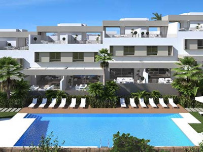 Mijas Costa, NEW BUILD TERRACED HOMES FOR SALE AT LA CALA GOLF RESORT, MIJAS, COSTA DEL SOL