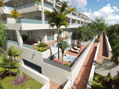 Estepona, Brand New 2 bed penthouse in New Golden Mile