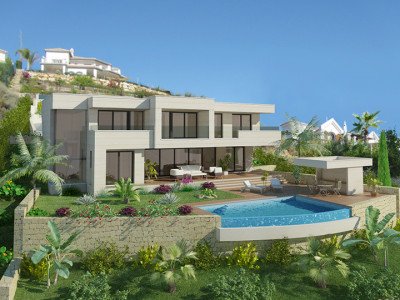 Marbella East, Elegant contemporary villa project in Elviria, Costa del Sol