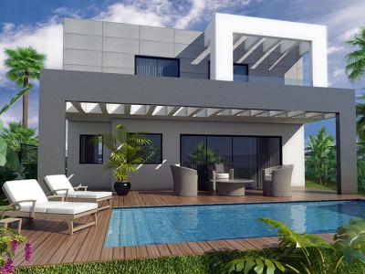 Fuengirola, Elegant modern villa project in Torreblanca, Costa del Sol