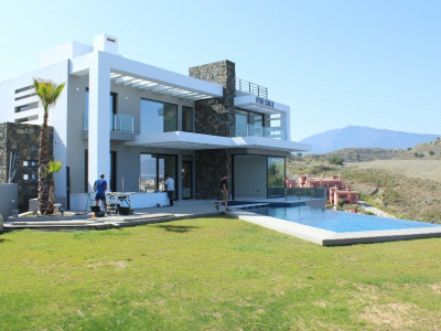 Benahavis, Magnificent contemporary villa in Paraiso Alto, Benahavis
