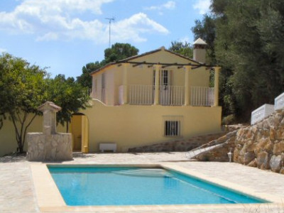 Gaucin, Bright riverside cottage on a big plot in Gaucin, Malaga