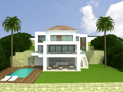 Benahavis, Amazing 5 Bedroom Modern Villa under costruction in the El Paraiso, Benahavis