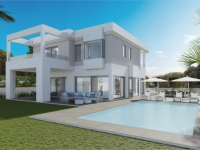 Marbella East, Off plan contemporary villa in Hacienda Las Chapas, Marbella
