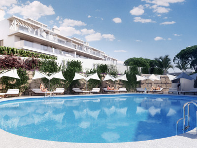 Estepona, Brand new contemporary 3 bedroom apartment for sale in Cancelada, Estepona