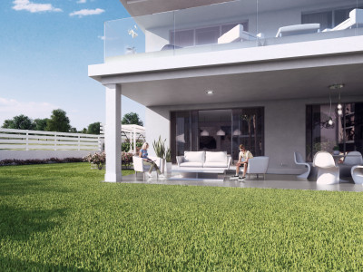 Estepona, Brand new contemporary 3 bedroom ground floor apartment in Cancelada, Estepona