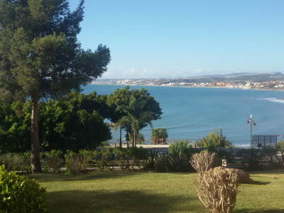 Estepona, Superb Value Beach Front investment apartment situated only 3 minutes walk to Estepona Port