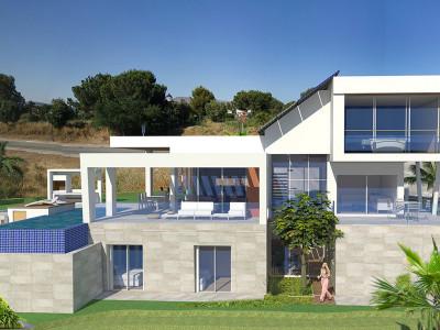 Mijas Costa, Proyecto de villa de 4 dormitorios sobre una enorme parcela en Cala Golf, Mijas Costa
