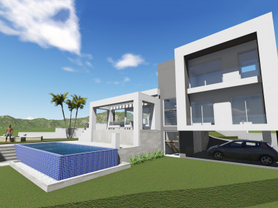 Mijas Costa, Brand new contemporary villa on a huge plot in La Cala Golf, Mijas Costa