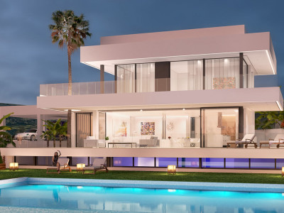 Marbella, 5 brand new contemporary villas in Nueva Andalucia
