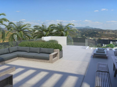 Mijas Costa, Modern designed brand new 4 bedroom penthouse with solarium in Cala de Mijas
