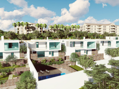 Mijas, Brand new 4 bedroom contemporary villas in Mijas, within luxury urbanization