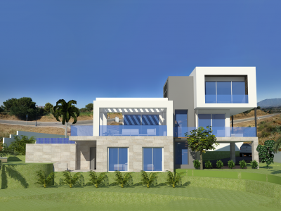Mijas Costa, Brand new contemporary 4 bedroom villa  in La Cala Golf, Mijas Costa