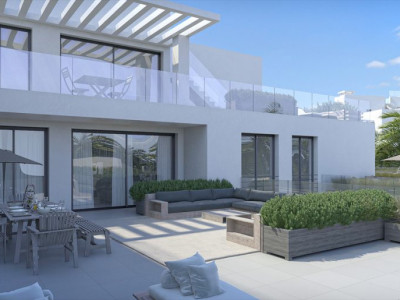 Mijas Costa, Modern designed brand new 3 bedroom apartment in Cala de Mijas