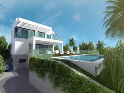 Mijas Costa, Contemporary 3 bed villa project in Cala de Mijas, Mijas Costa