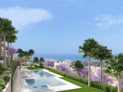 Benalmadena, 2 bedroom duplex penthouse project in Benalmadena