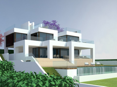 Nueva Andalucia, Building plot with project for sale in Nueva Andalucia