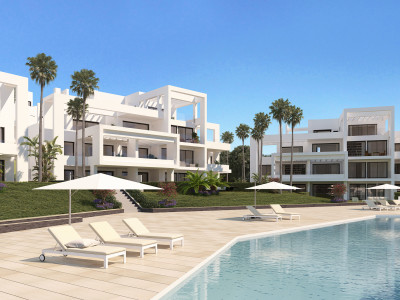 Estepona, Brand new development with modern and contemporary architecture in Atalaya, Estepona