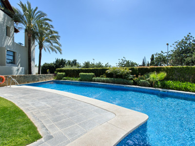 Marbella Golden Mile, Luxury 3 bed ground floor apartment in Marbella Golden Mile