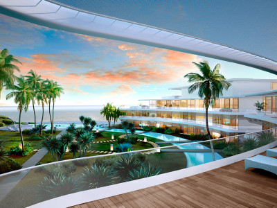 Estepona, Luxury brand new 2 bed apartments within a futuristic beachfront complex