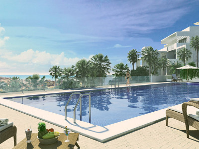 Estepona, Brand new 2 bed apartment with parking space and storage room in Estepona