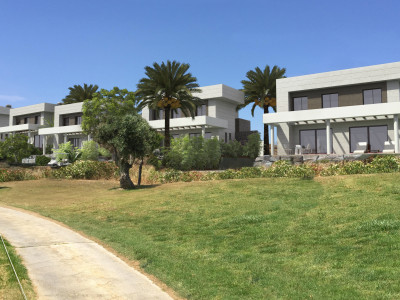 Mijas Costa, Front line golf, contemporary style villas in Mijas Costa