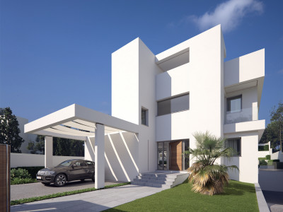 Marbella - Puerto Banus, Brand new 3 bed and 3 baths quality contemporary villas in Nueva Andalucia