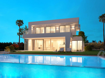 Estepona, Modern 5 bedroom villa project in Estepona
