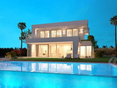 Estepona, Modern 5 bedroom villa project in Estepona