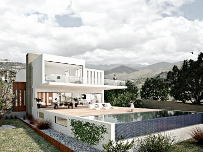 Marbella East, Project of a contemporary 3 bedroom villa in Marbella East