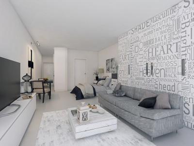 Malaga - Centre, Modern studio apartment project in Malaga centre