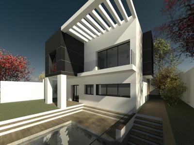 Mijas, Impresionante proyecto de villa contemporánea en Campo Mijas