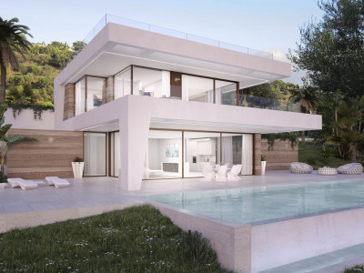 Estepona, New front line golf villa project with stunning golf and mountain views