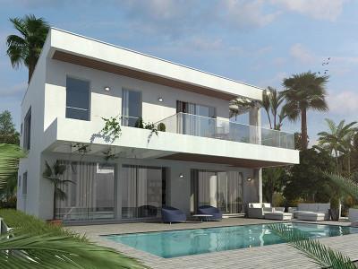 Estepona, Off-plan modern villa in Estepona