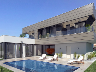Mijas Costa, Contemporary villa project in La Cala de Mijas
