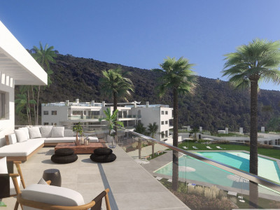 Benahavis, Contemporary penthouse in a breath-taking natural setting in Benahavis