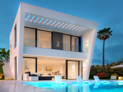 Estepona, Elegant and modern villa project in Estepona