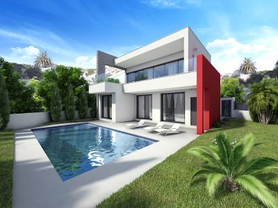 Estepona, Proyecto de una villa moderna en Estepona