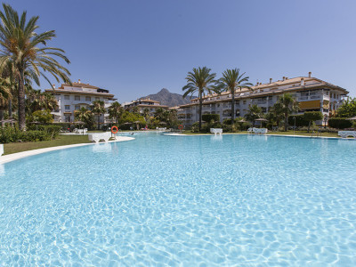 Nueva Andalucia, Apartment in Nueva Andalucia just a 10 minute walk from Puerto Banus and the beach