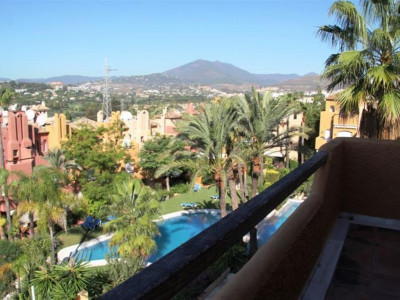 Nueva Andalucia, Townhouse in Nueva Andalucia behind Puerto Banus in Marbella on the Costa del Sol