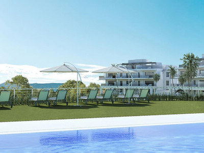 Mijas Costa, Quality new golf apartments for sale in Mijas Costa on the Costa del Sol with sea views