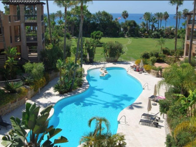 San Pedro de Alcantara, Beach front penthouse apartment in San Pedros de Alcantara within walking distance to town