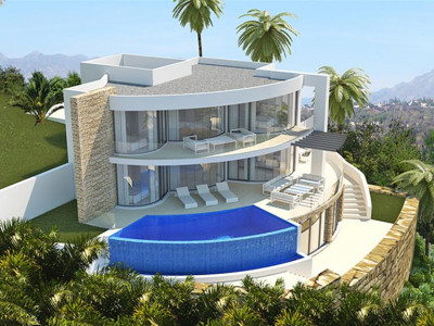 Benahavis, New construction plots in Benahavis with building license in place in a stunning location