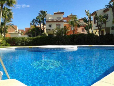 Estepona, Beachfront townhouse on the New Golden Mile in Estepona in a small secure urbanisation