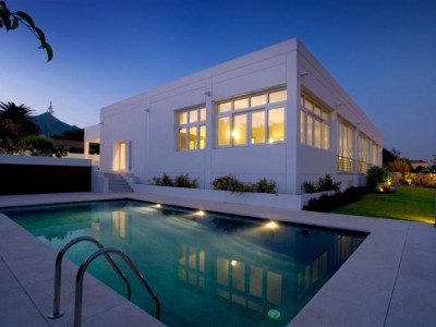 Marbella, Contemporary villa in Marbella with complete with quality technology systems installed throughout
