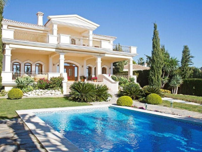 Marbella Golden Mile, Luxurious villa located in one the most exclusive locations of Marbella Malaga Spain for sale