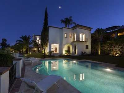 Benahavis, A very stylish 7 bedroom villa located in La Quinta near Puerto Banus Marbella Spain for sale