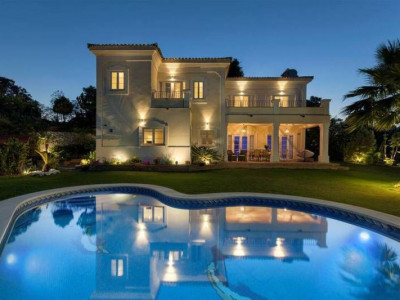 Estepona, Luxury brand new villa located front line golf close the Puerto Banus and Marbella on the Costa del Sol Spain for sale