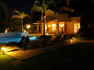 Benahavis, Beautiful Villa, front line golf designed for private comfort and entertaining guests
